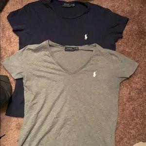2 Women's Polo shirts